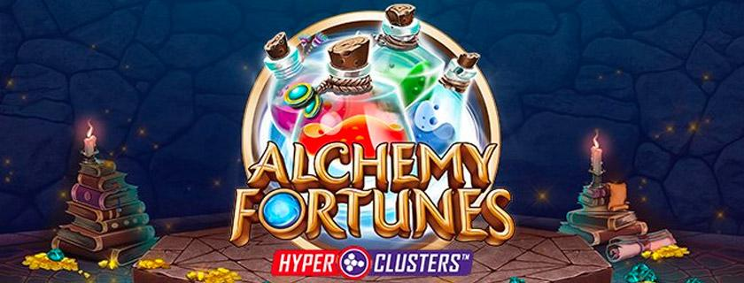 Alchemy Fortunes Microgaming slot